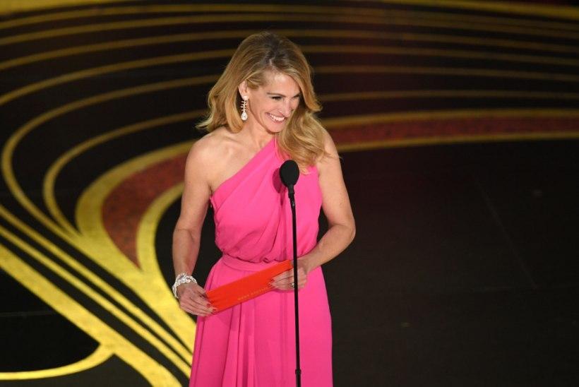 ROOSA! ROOSA! ROOSA! Julia Roberts kroonis Oscarite mannavahutrendi