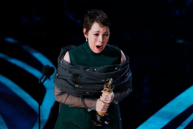 PISARAD JA PURISTAMINE: Olivia Colmani tänukõne läheb Oscarite ajalukku