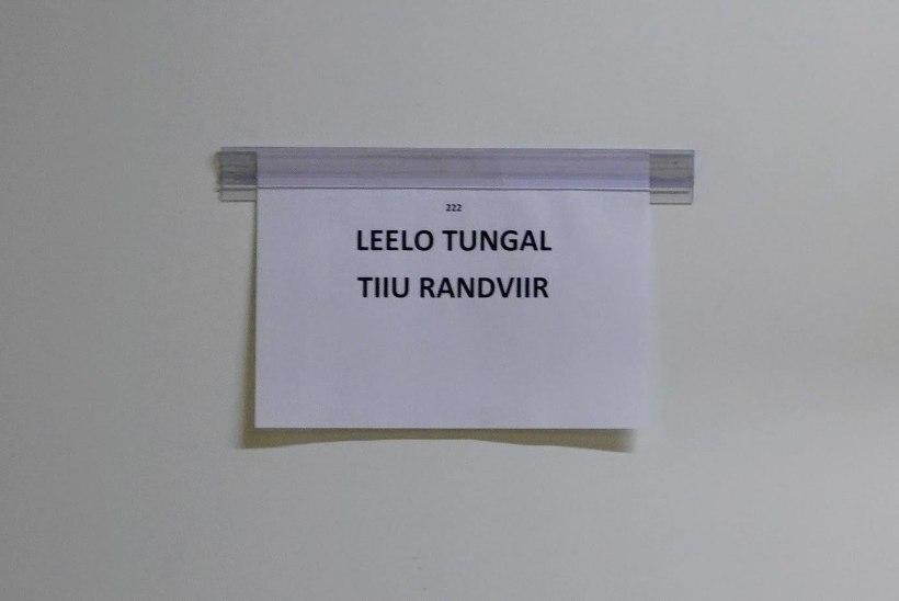 """Leelo Tungal: """"Garderoobi jagamine Tiiu Randviiruga – ja veel Estonias! – on suur au!"""""""