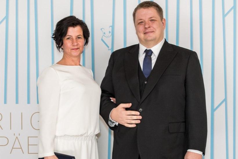 Erki Savisaar külastas presidendi vastuvõttu uue kallimaga
