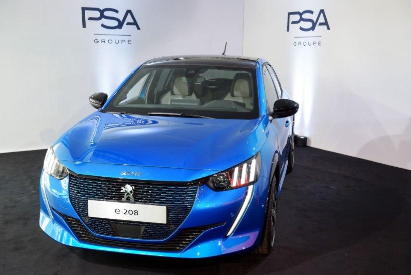 Täiselektriline Peugeot e-208: sõiduraadiust 340 kilomeetrit, mugavust rohkemgi