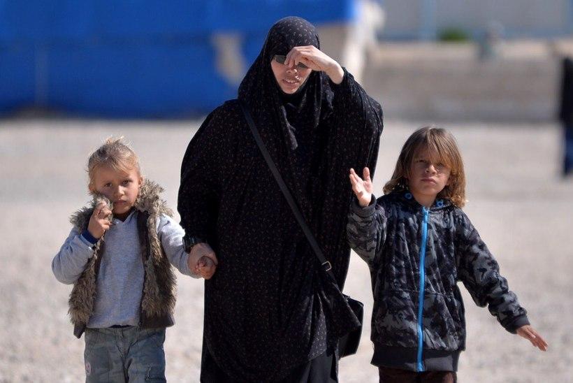 Mida teha tagasi tulla soovivate ISISe pruutide ja nende lastega?