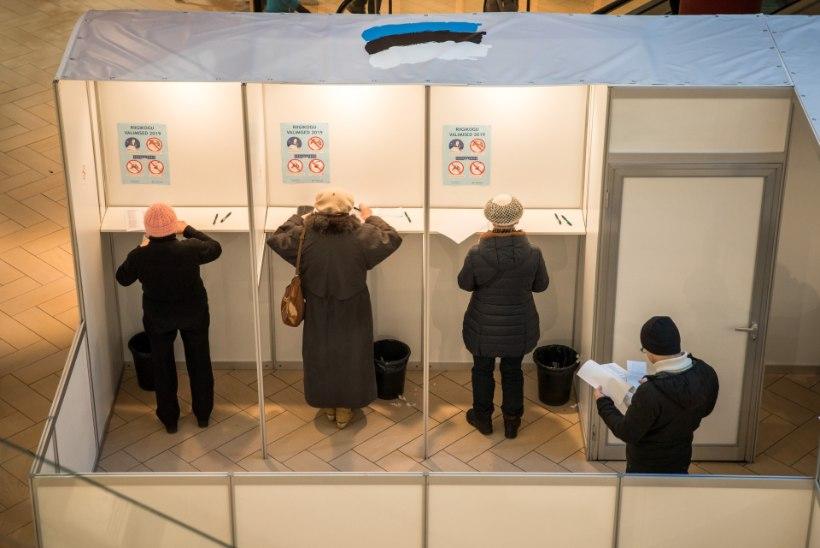 GRAAFIK | PARTEIDE UUS ENNUSTUS: kes riigikogu valimistel võidutseb, kes hävib