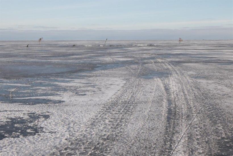 Kui palju kalamehi käib talvel Peipsil?