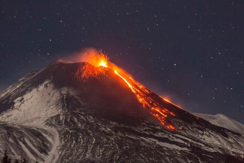ELUOHTLIK TÖÖ: maailma esimesed vulkaanikütid
