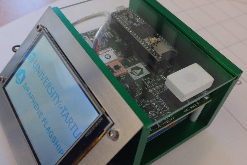 TULEVIKUTELEFONI POOLE! Tartu Ülikoolis valmis grafeenipõhise sensori prototüüp