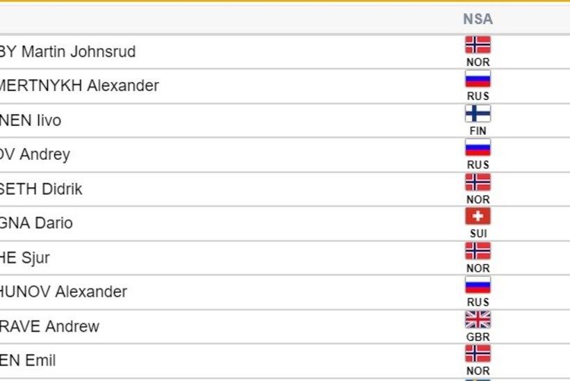 SEEFELDI MM   Soome jäi ihaldatud kuldmedalist ilma, esikoha teeninud norralane valas rõõmupisaraid