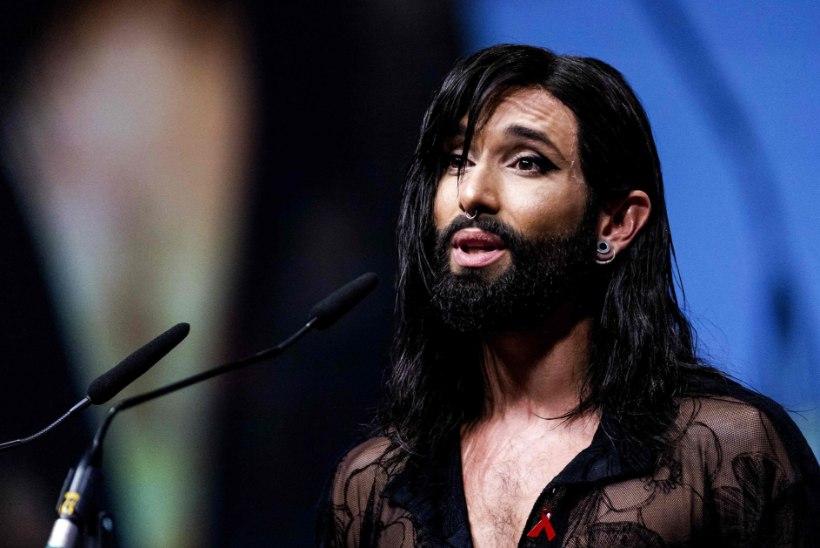 FÄNNID AHMIVAD ÕHKU: Conchita Wurst on nüüd kiilakas!