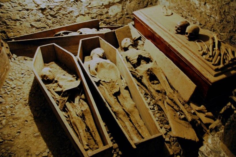 PEATAOLEK: vandaalid näppasid Dublini kirikusse maetud ristisõdalase pea