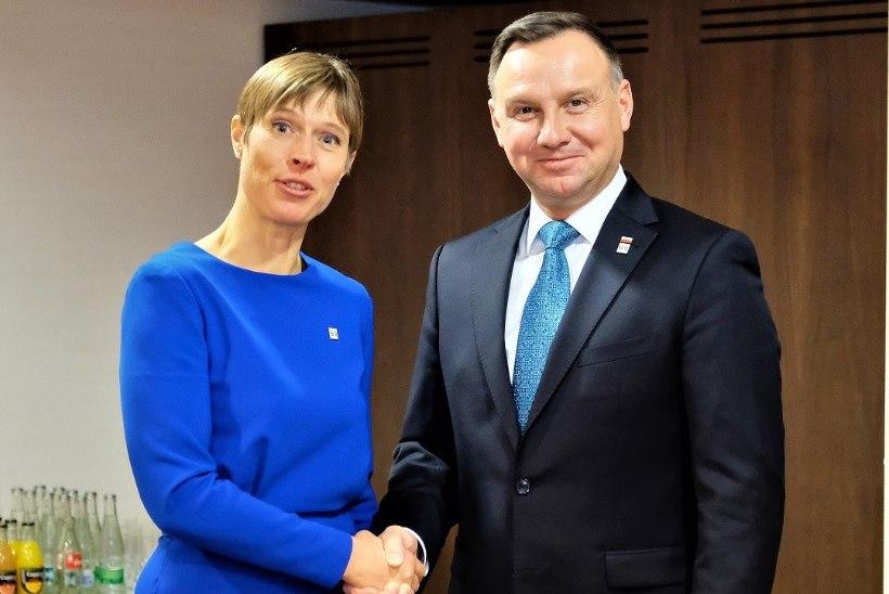 FOTOD | President Kaljulaid Slovakkias: töö NATO idatiiva tugevdamiseks peab jätkuma