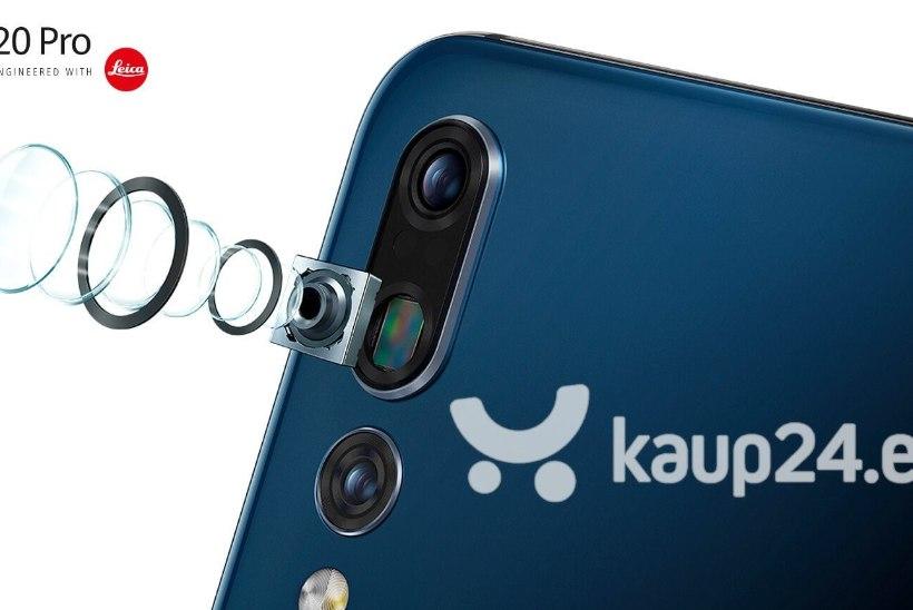 Huawei P20 Pro – tark kolme kaameraga nutitelefon igaks elujuhtumiks