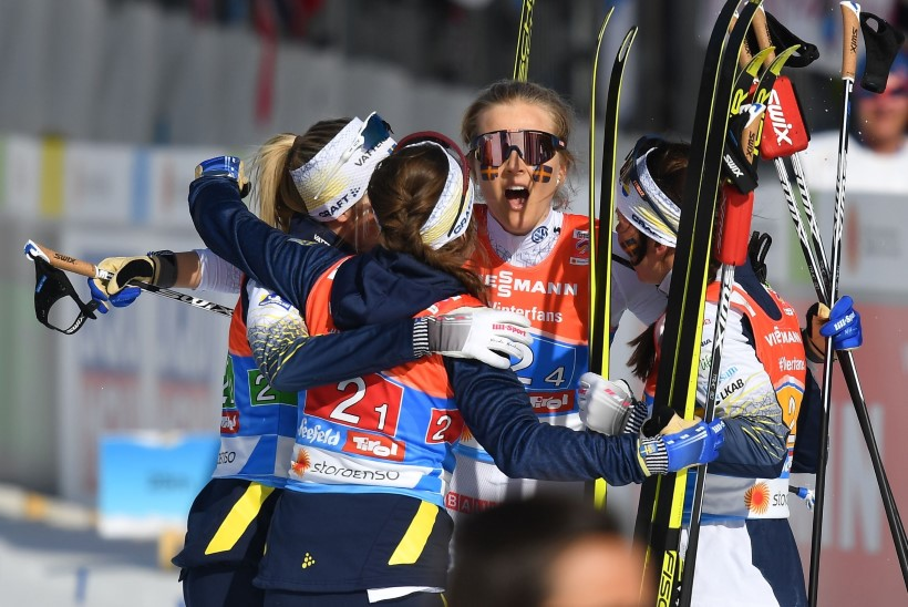 SEEFELDI MM | Rootsi naised purustasid Johaugi unistuse neljast kuldmedalist