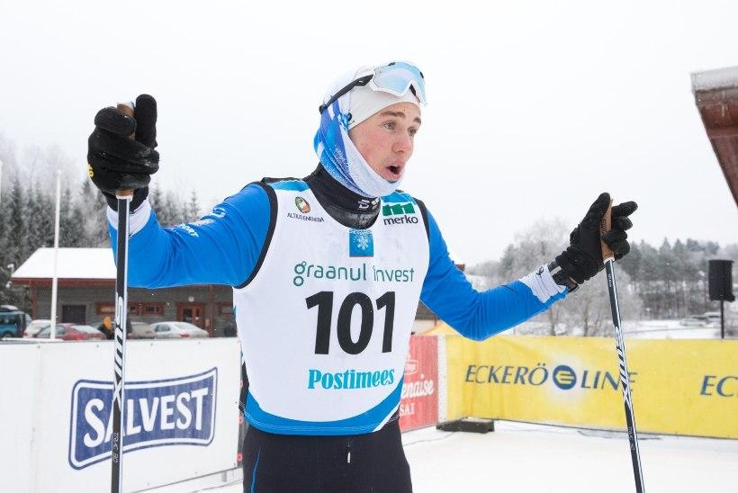 Vana hea 15 km klassikasõidu Eesti meistriks tuli taas Veerpalu, Pullese edu oli mäekõrgune