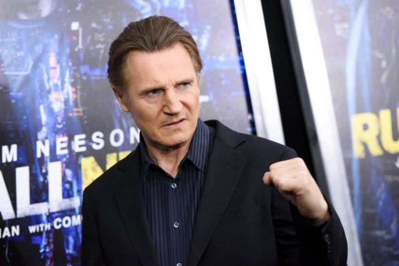Liam Neeson käis relvastatult ringi ja otsis mustanahalist, keda tappa
