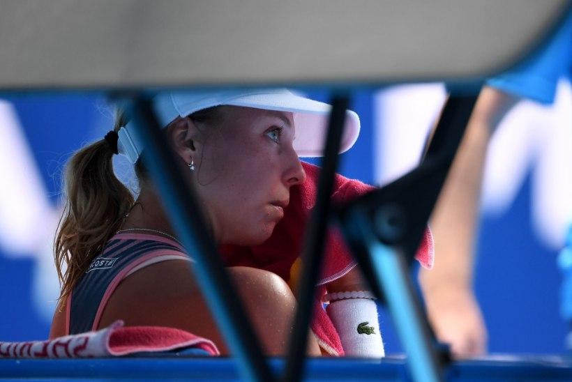 Valus: Eesti tennisenaiskond kaotas avamatši, järgmised vastased veelgi tugevamad