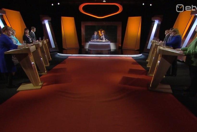 ANALÜÜS | Valimiste debatt numbrites: enim eetriaega sai Reformierakond