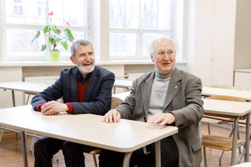 SÕBRAD KOGU ELUKS: kõrvuti koolipinki nühkinud Heinz Valk ja Rando Truve käivad läbi tänini!
