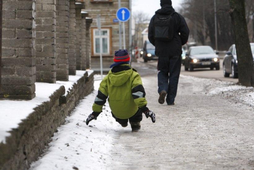 Vihakõne: miks puhastatakse autoteid, kui peaks puhastama kõnniteid?