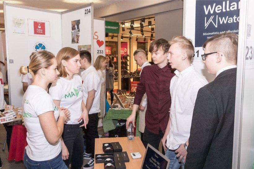 GALERII | Toimus Eesti suurim õpilasfirmade laat