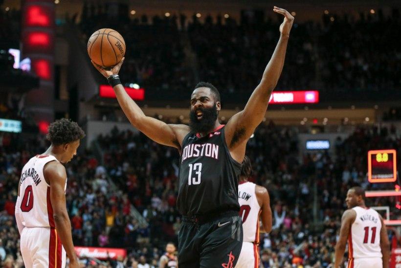TOHOH! Harden näitas NBAs numbreid, mida varem on suutnud vaid ... tema ise!