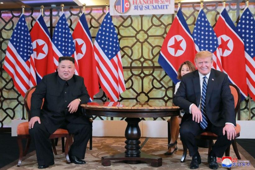 "Trump: ""Kim Jong-un on tõeline juht!"""