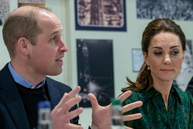 Prints William maadleb samasugustega muredega nagu kõik pereisad