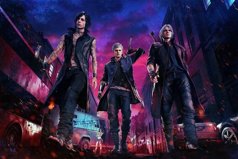 """CAPCOM ON TAGASI! """"Devil May Cry 5"""" osutus stuudio jaoks järjekordseks PC-hitiks"""