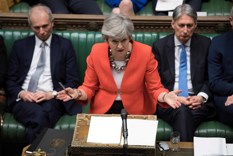 May Brexiti-diil kukkus Briti parlamendis uuesti läbi