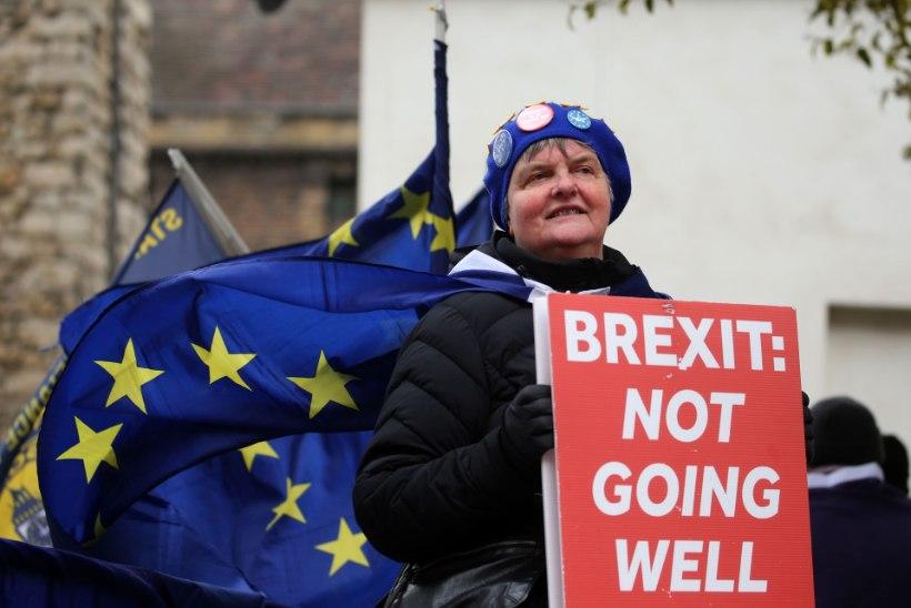 Briti parlament hääletas kaks korda järjest leppeta Brexiti vastu