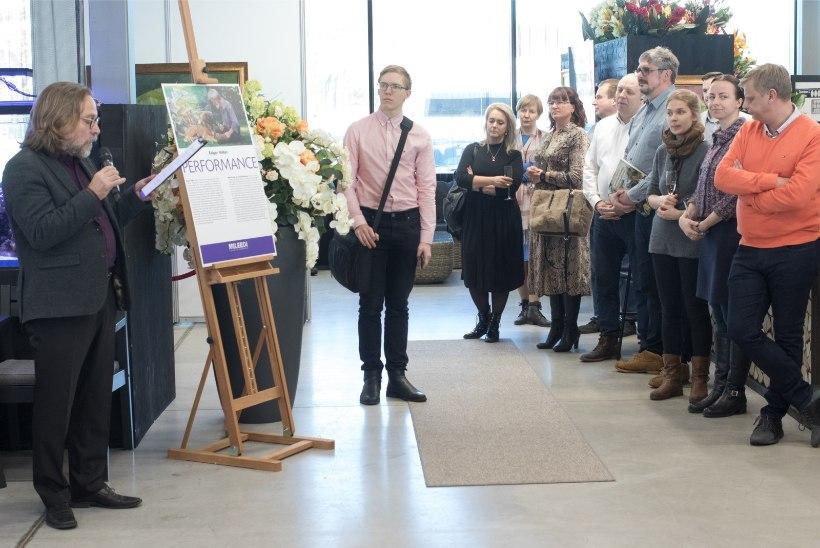 GALERII | Edgar Valteri 90. sünniaastapäeva tähistamise juhatasid sisse raamatuesitlus ning maalide näitus