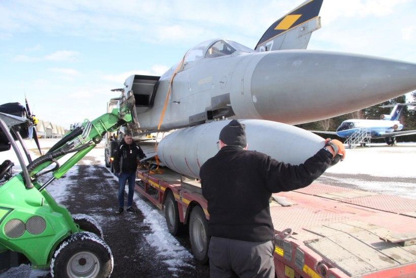 Lennundusmuuseum sai uue hävitaja