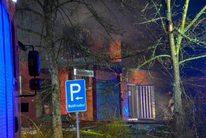 Krematoorium lahvatas põlema, kuid sealsed surnukehad jäid tulest puutumata