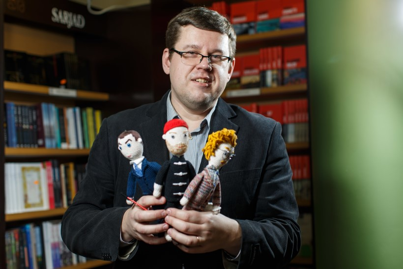"Kirjastaja Tauno Vahter: ""Eesti kirjandus vajab tugevat mõjuisikut!"""