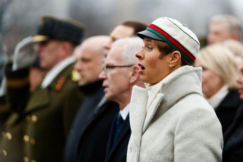 KOORIPROOVID KÄIVAD: president Kaljulaid valmistub laulupeoks