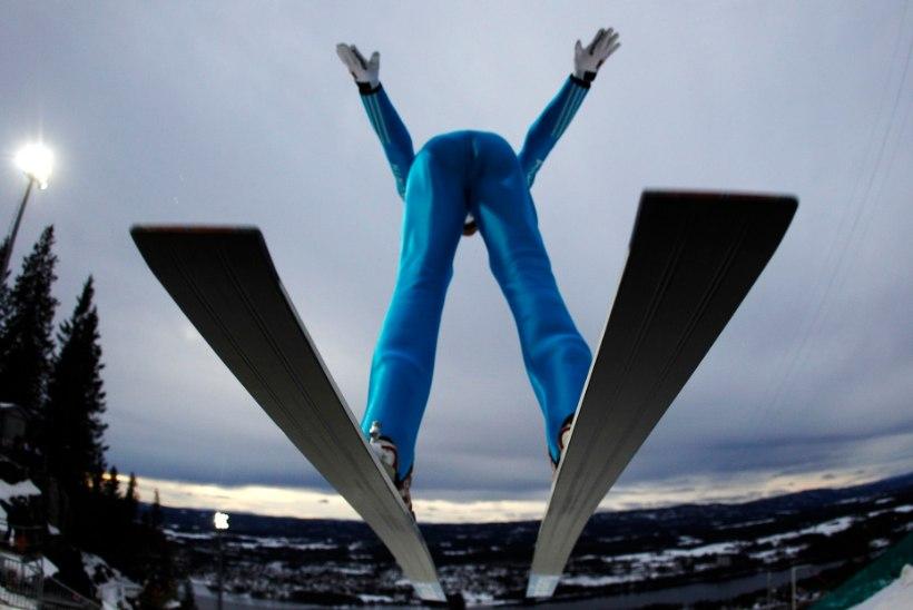 Eestlased Vikersundis rekorditeni ei küündinud. Kui kaugele lennati suuskadega 200 aastat tagasi?