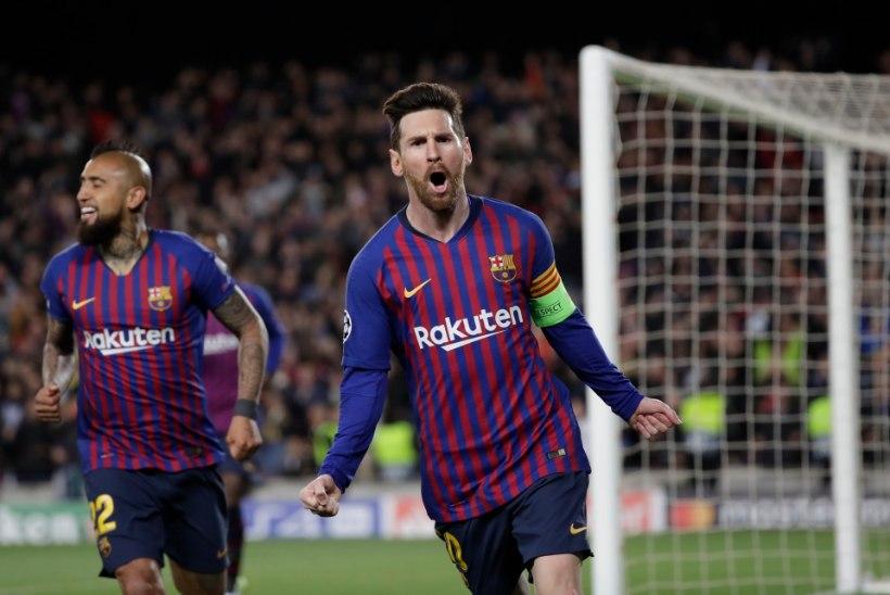 MEISTRITE LIIGA: veerandfinaalides tuleb Barcelona ja Manchester Unitedi duell, Ronaldo ja Messi võivad finaalis kokku minna