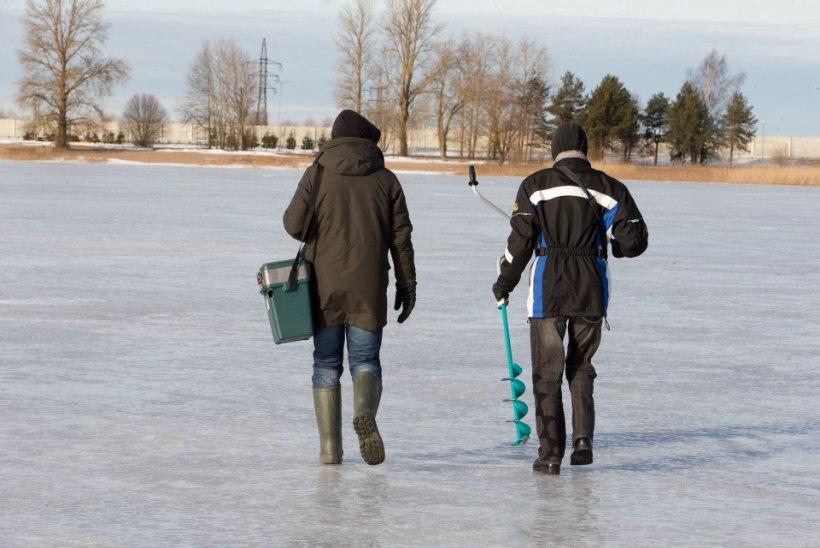 Päästeamet: siseveekogudes on jääle minek keelatud