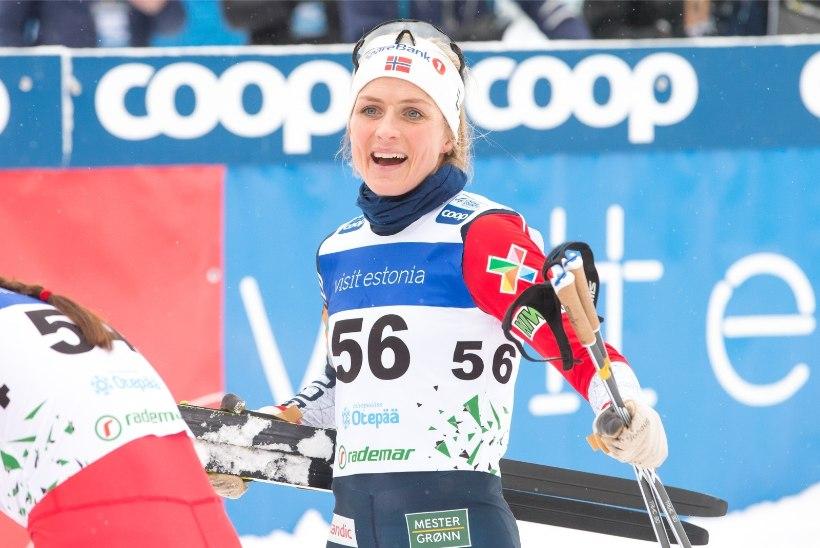 Therese Johaug ütles, mida ta eestlaste dopinguskandaalist arvab