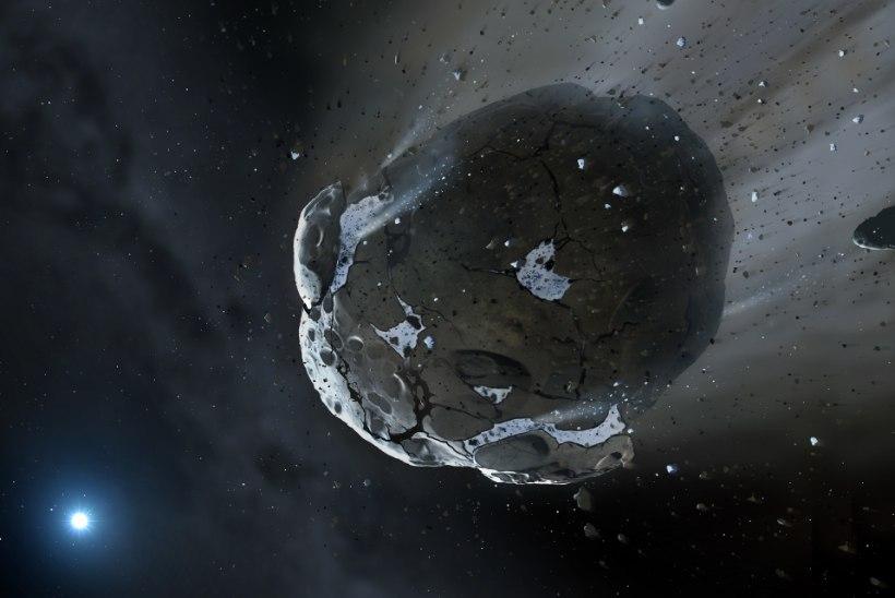 KÜLALINE KOSMOSEST: reedel möödub Maa lähedalt suur asteroid