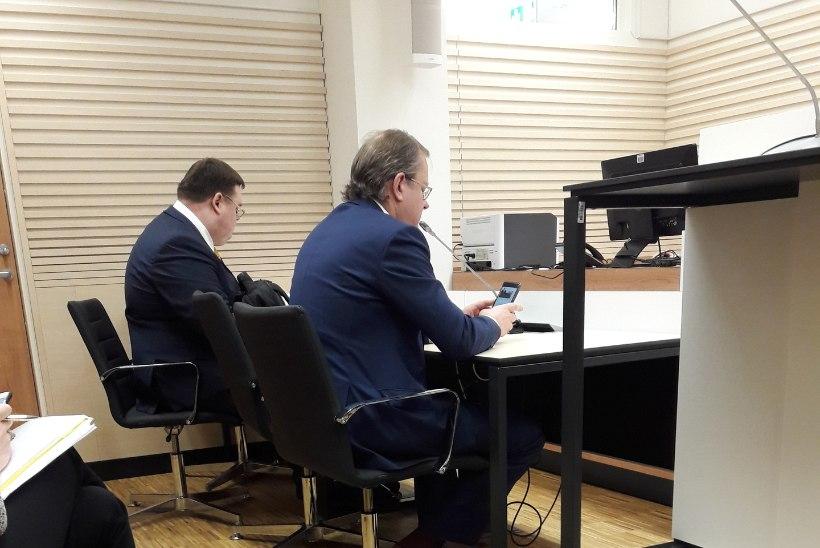 """Paavo Pettai kohtus Oliver Kruudale: """"Sa ju tead väga hästi, et see oli erakonna rahastamise skeem!"""""""