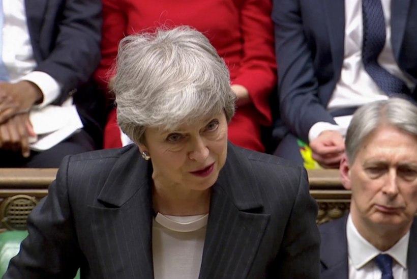 Theresa May: kahetsusväärselt ei lahku me Euroopa Liidust 29. märtsil!