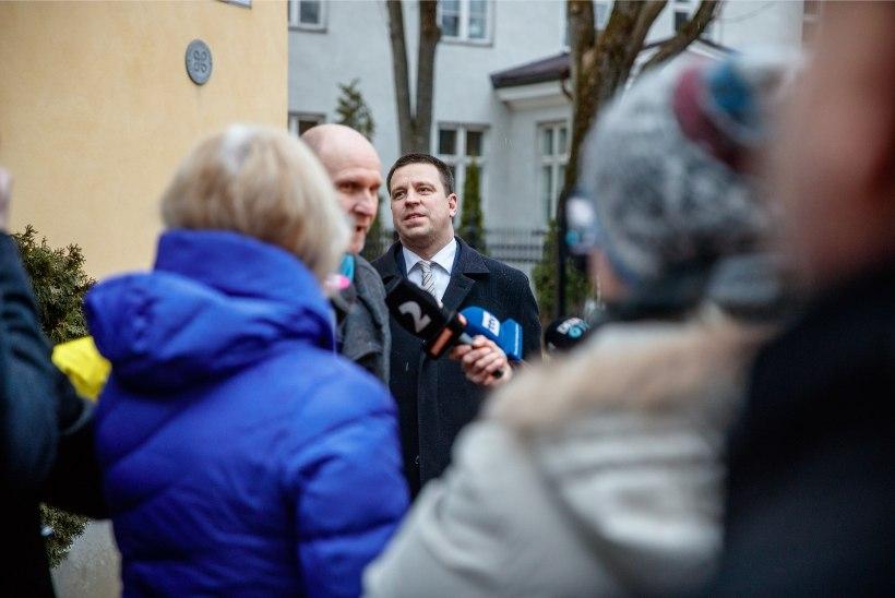 ÕL VIDEO JA FOTOD | Millest arutati koalitsiooniläbirääkimistel?