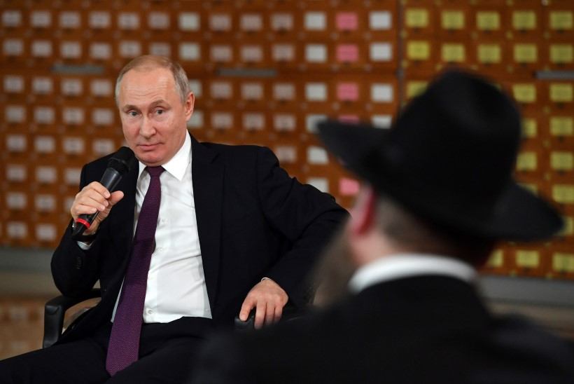 ANTISEMITISM? Venemaa president viskas juutide üle nalja