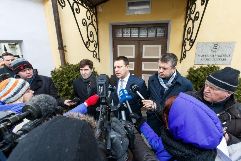 """MURDEPUNKT? Täna jõuab KEI koalitsiooniläbirääkimistel """"punaste joonteni"""""""