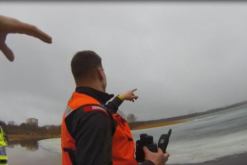VIDEO JA FOTOD | Seadust rikkunud kalur raiskas appitõttajate aega