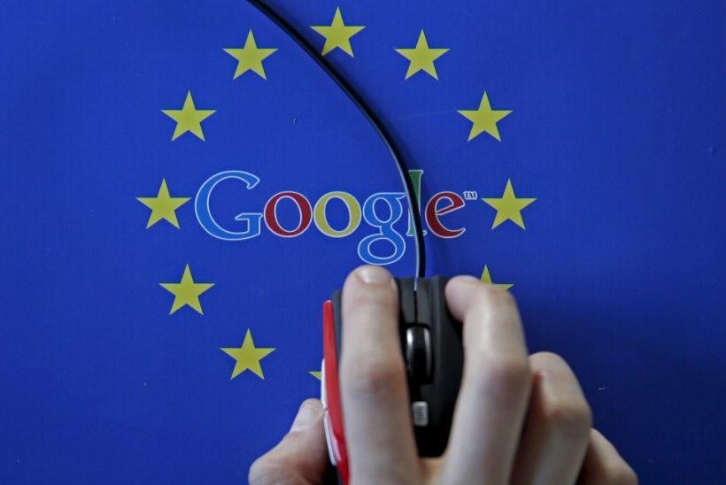 JUBA KOLMAS KORD: Euroopa Liit trahvis Google'it järjekordselt hiigelsummaga