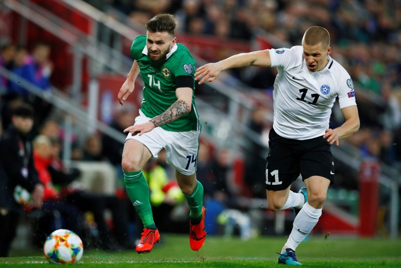 Eesti jalgpallurid murdusid Põhja-Iirimaa surve all. Peatreener Reim: meie plaanid ei toiminud