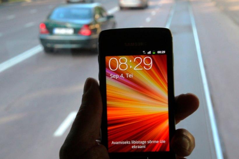 Nutijoove tapab liikluses endiselt: võta osa üle-eestilisest mobiilivabast päevast