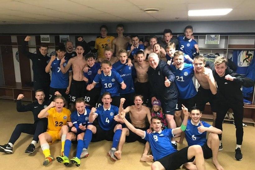 TUBLI! Eesti noortekoondislased tegid Prantsusmaale tuule alla