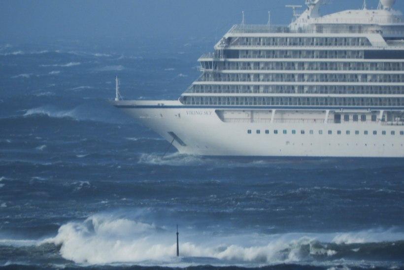 """FOTOD   Merehädas Norra kruiisilaevalt päästetu: """"See oli mu elu kõige jubedam öö!"""""""